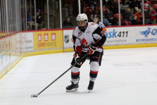 Warriors defenceman Jett Woo