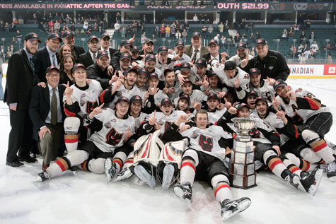 The Calgary Hitmen Win The 2010 Whl Championship Chl