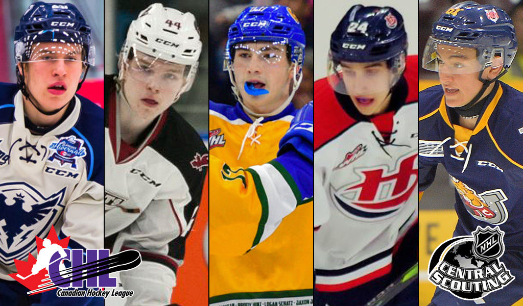 Two Giants Among The 110 Chl Players To Watch For 2019 Nhl Draft