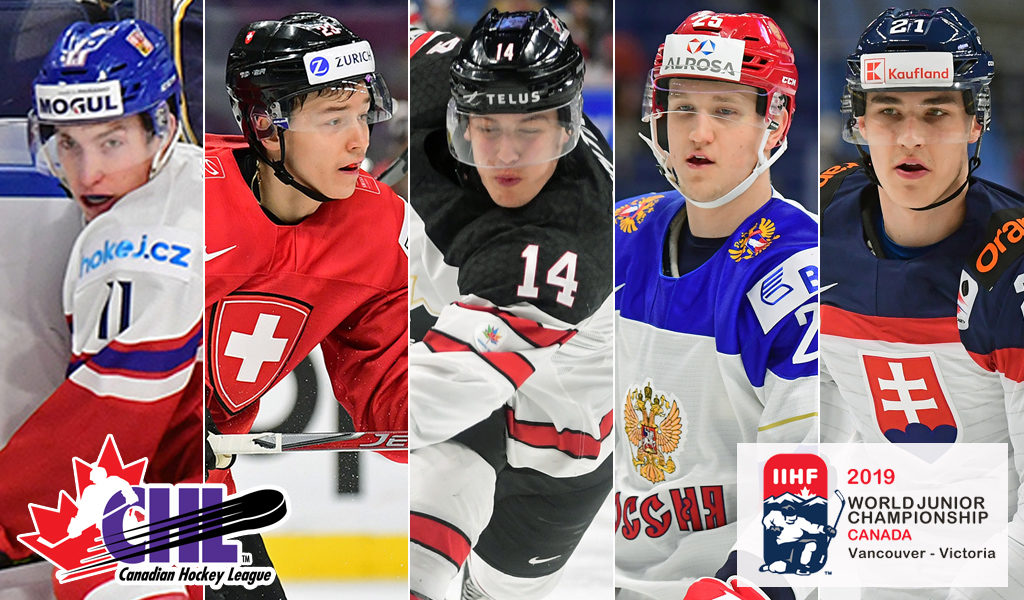 Chl Talent Competing On International Stage At 2019 Iihf World Juniors Chl