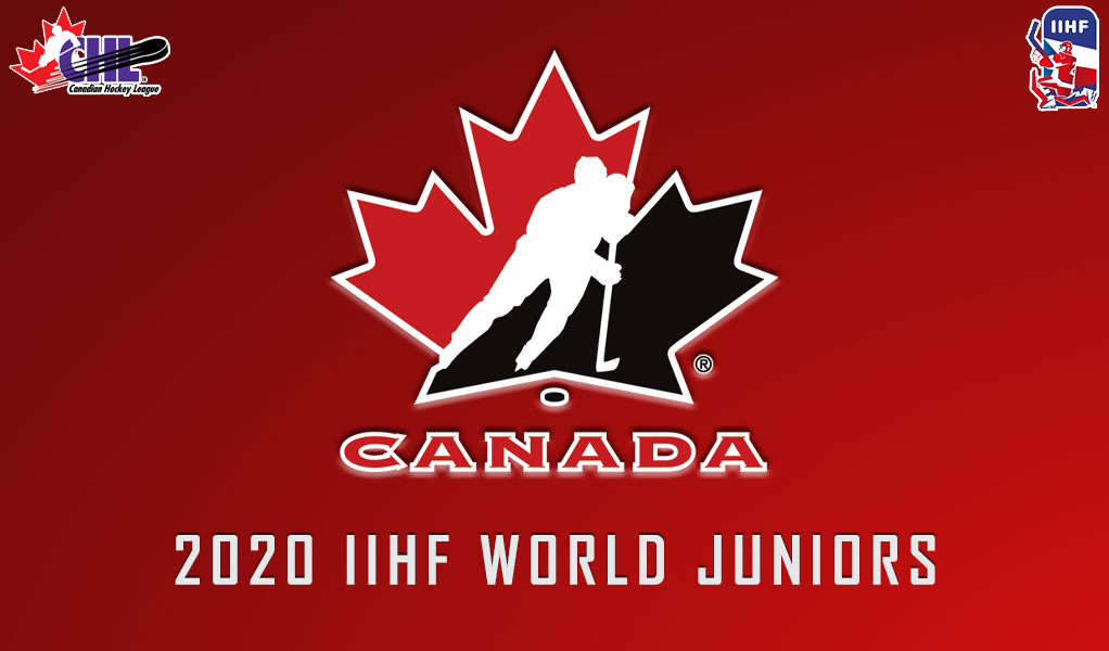 22 Chl Players Past And Present Ready To Represent Canada At 2020 World Juniors Chl